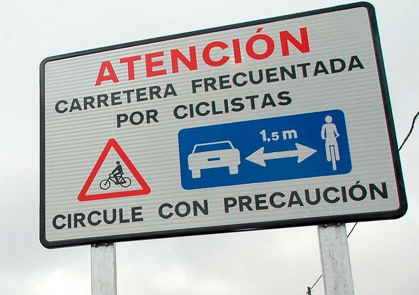 Ley de Tráfico para Ciclistas II